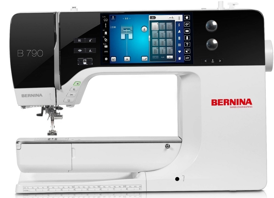 Bernina 790 E incl. BSR