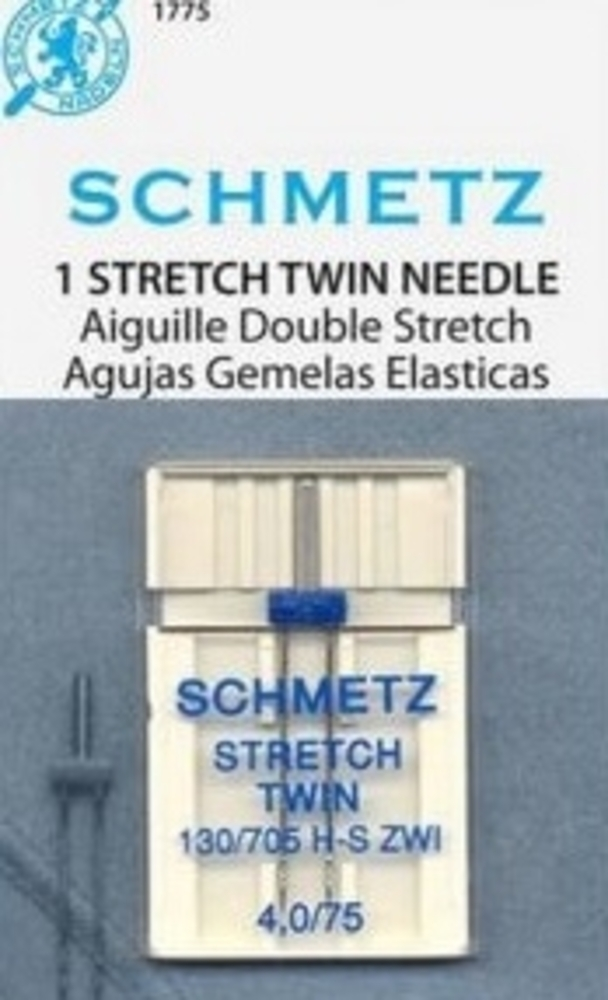 Schmetz twinn naald (stretch of Jeans)